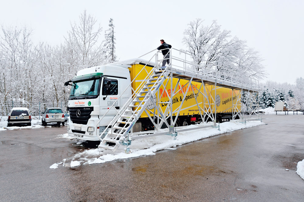 Mauderer Enteisungsbühne mobil im companyshop24