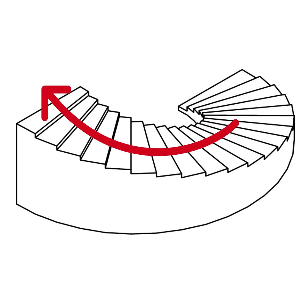 CT400 Icon schmale Treppen