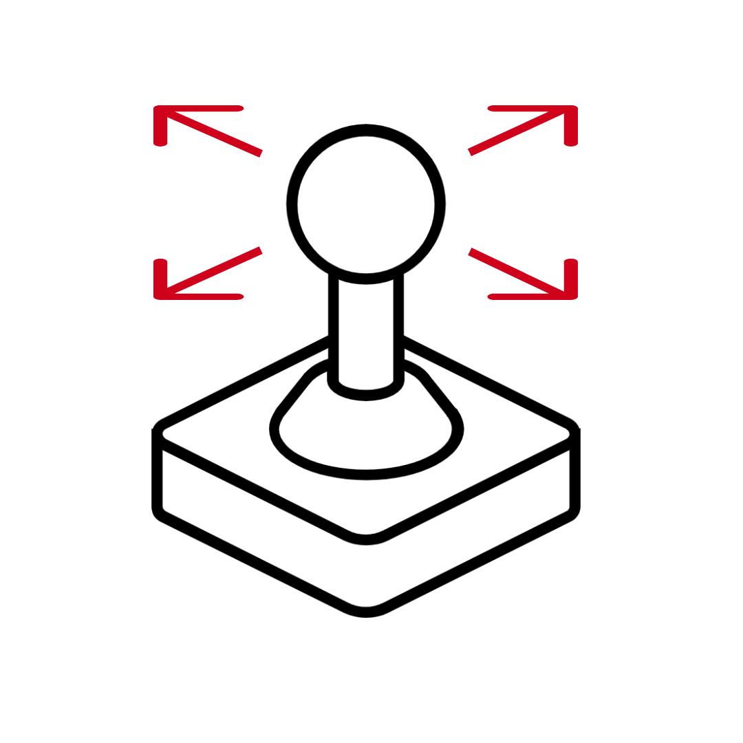 CT400 Icon Einfache Bedienung mit Joystick