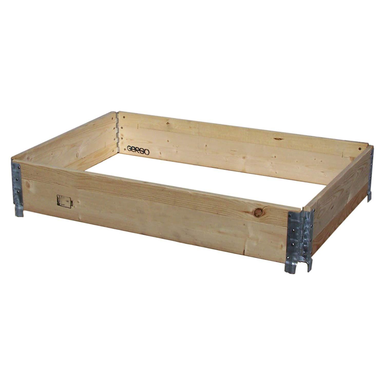 Palettenrahmen aus Holz im companyshop24