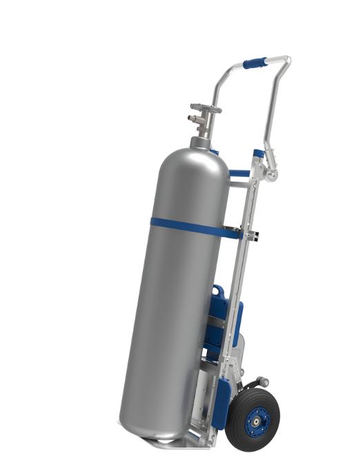 Compartec elektrischer Treppensteiger mit Gasflaschenhalterung