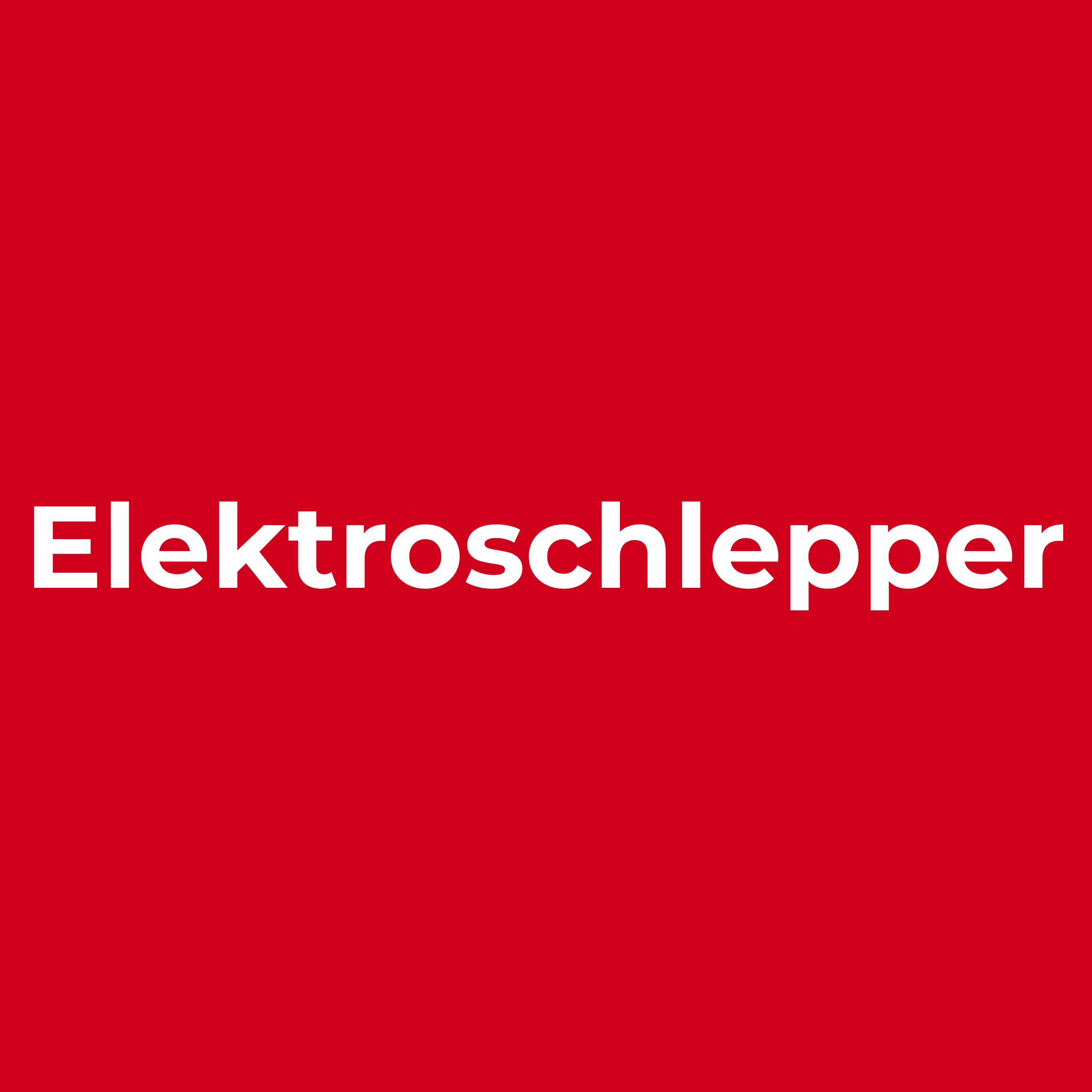 Kachel Elektroschlepper