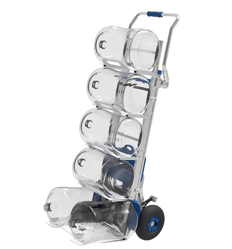Compartec elektrischer Treppensteiger mit Fasshalterung