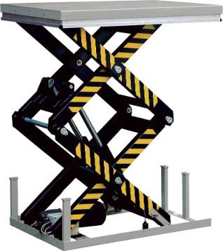 Silverstone stationärer Hubtisch mit Doppelschere