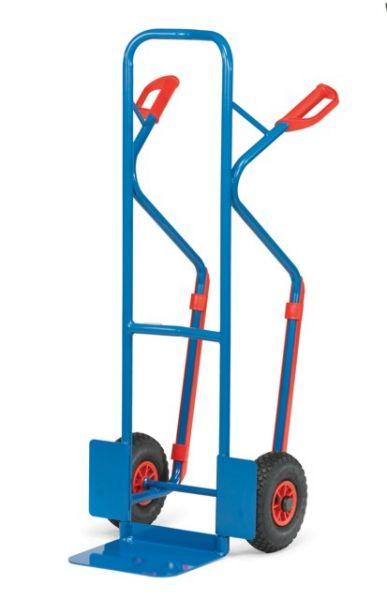 Fetra Schwerlast Stahlrohrkarre mit Gleitkufen Tragfähigkeit 300 kg